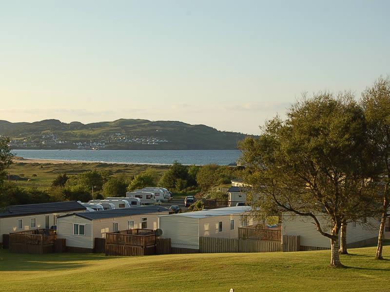 Ballymastocker Bay Caravan Camping Park Donegal