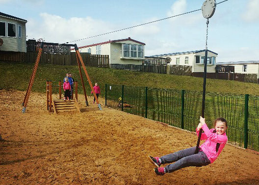 Knockalla Fun Day   Knockalla Caravan Park Playground