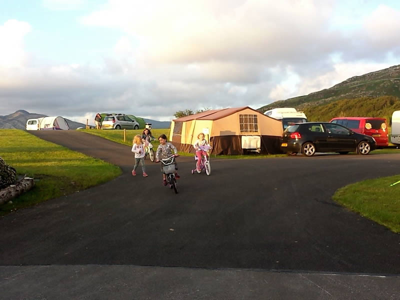 Touring Caravans, Motorhomes & Camping Park in Knockalla Donegal on the Wild Atlantic Way