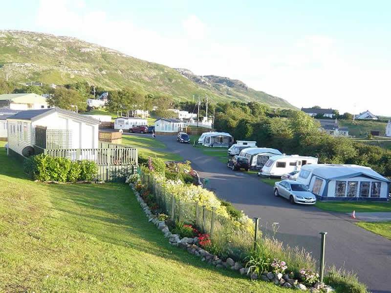 Touring Caravans Motorhomes Camping Park In Knockalla Donegal