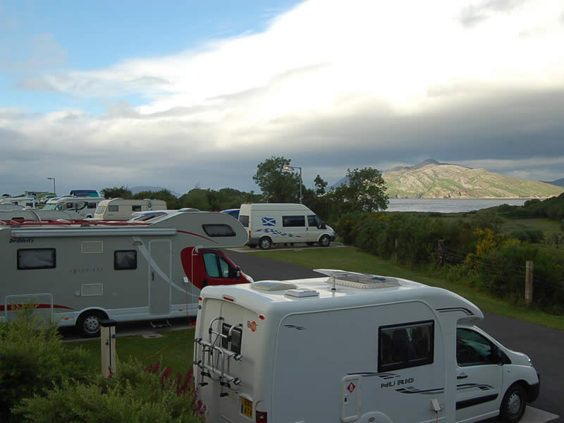 Touring Caravans, Motorhomes & Camping Park in Donegal on the Wild Atlantic Way