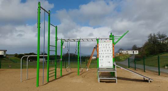 Knockalla Caravan & Camping Park Donegal Family Friendly Playgound