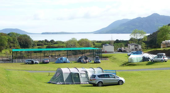 Knockalla Caravan & Camping Park Donegal Family Friendly with Tennis Court