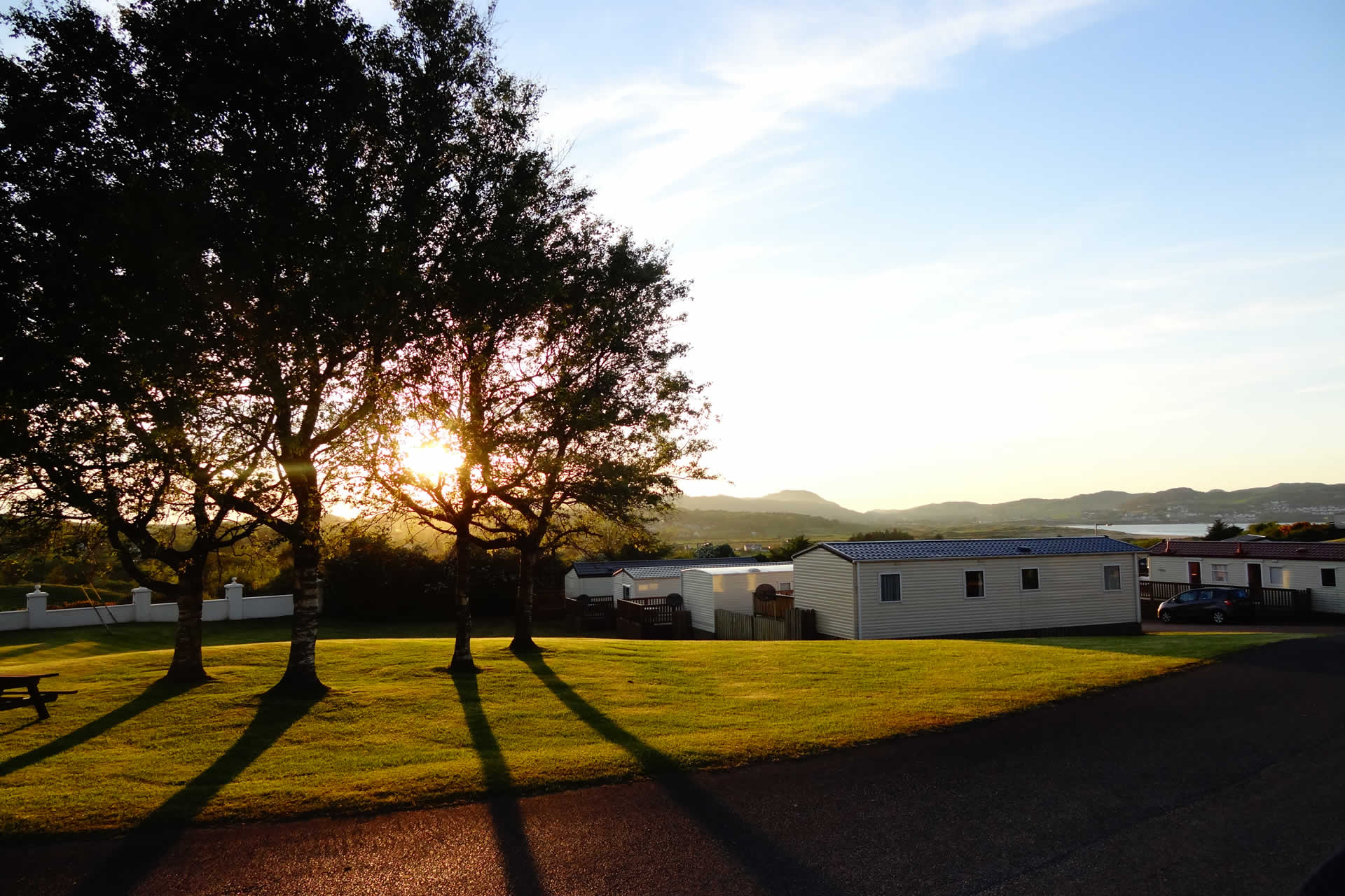 Touring Vans and Tents visit Knockalla Caravan & Camping Park with first class amenities