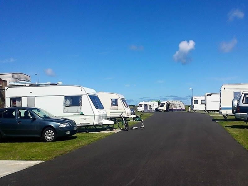 Touring Caravans, Motorhomes & Tents Camping Park Portsalon Donegal