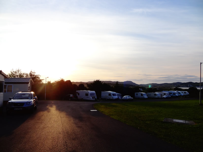 Touring Caravans, Motorhomes & Tents Camping Park Donegal