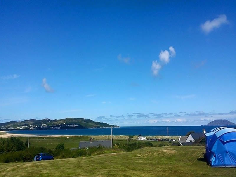 Touring Caravans, Motorhomes & Tents Beach & Mountain Camping Park Donegal