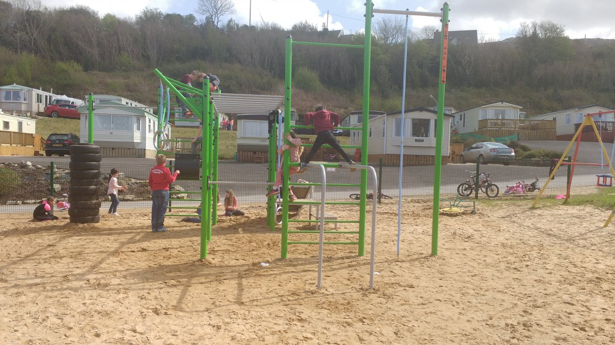 Donegal Camping Park on Wild Atlantic Way with Outdoor Playground, Tennis Court and Gym