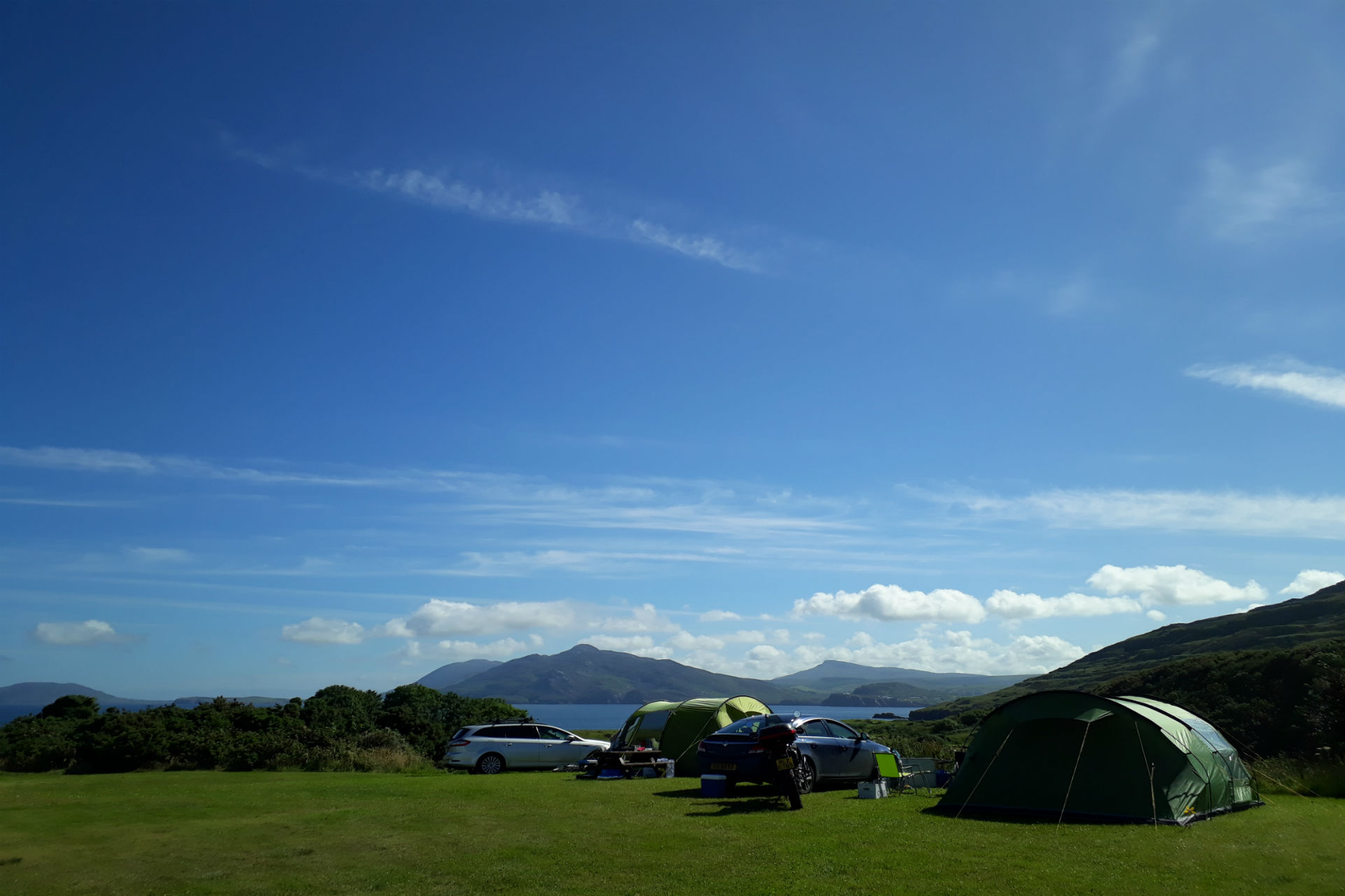 Tent Donegal View Ballymastoker Bay