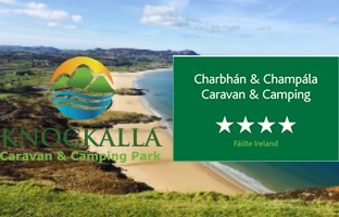 Knockalla Caravan and Camping Park, Donegal, Ireland 4 Star