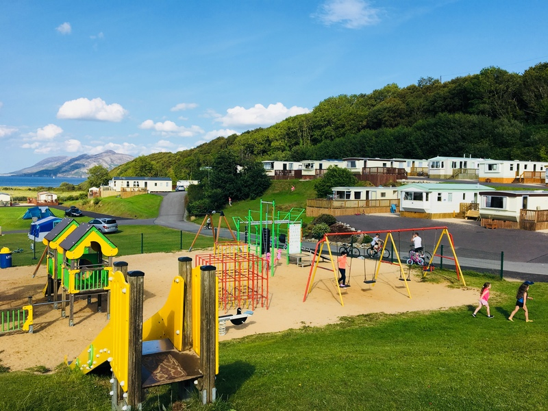 Knockalla playpark sea views holiday