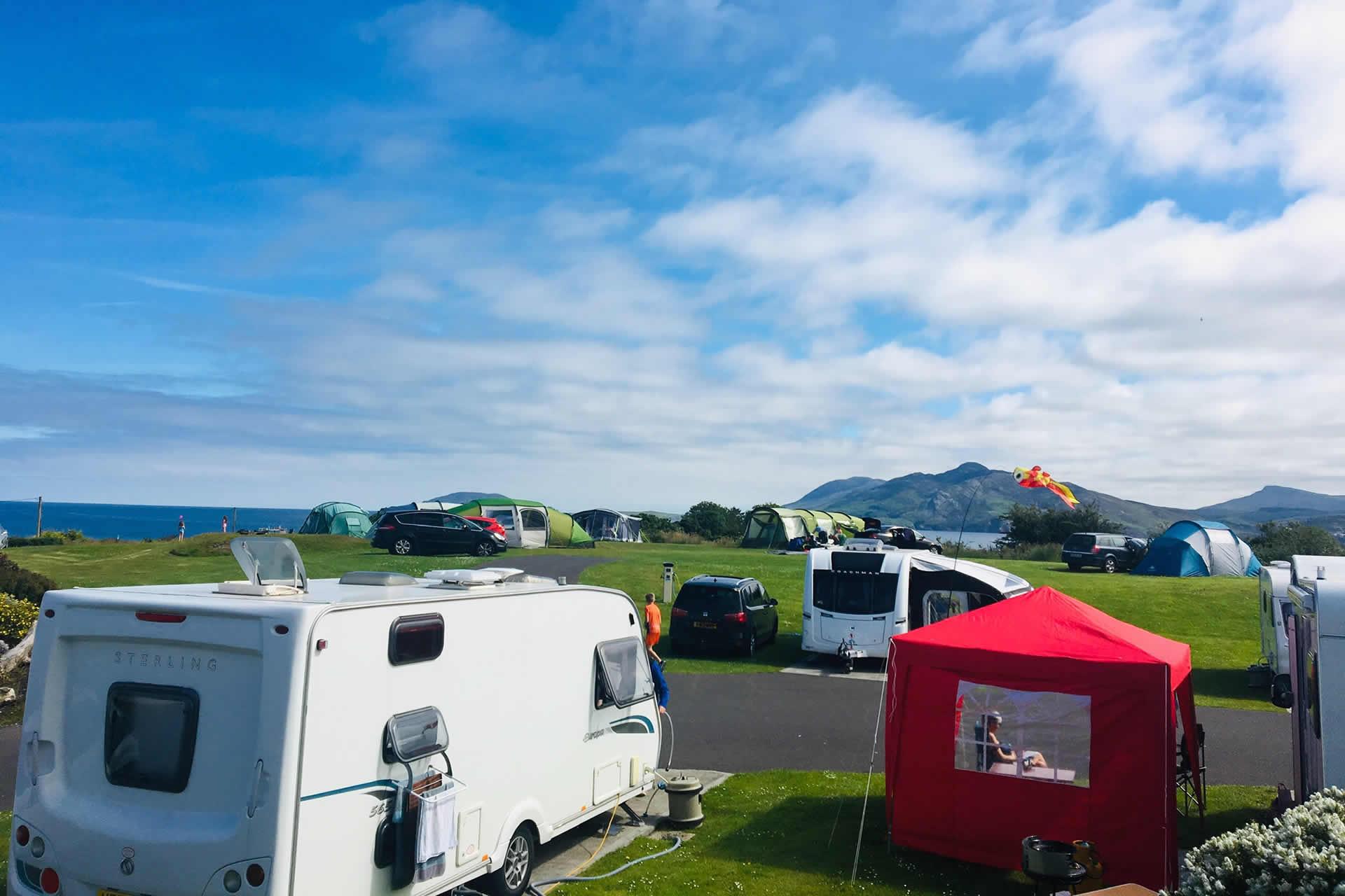 Portsalon, Co. Donegal, Knockalla Caravan & Camping Park